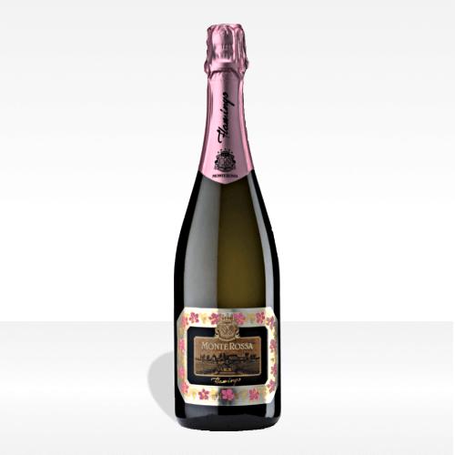 Franciacorta DOCG Flamingo Rosè Brut - Monte Rossa