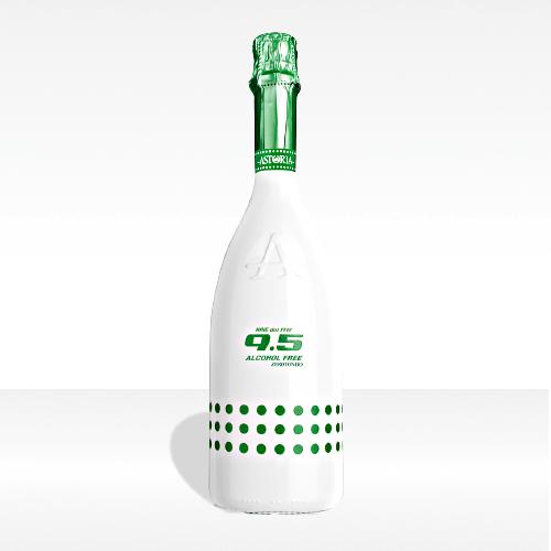 '9.5 Zerotondo' cold wine spumante alcohol free - Astoria