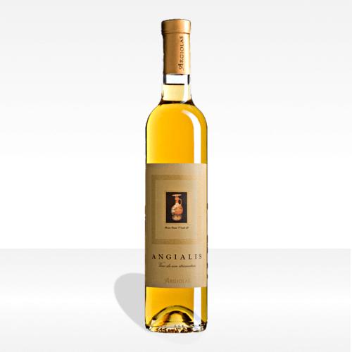 Angialis vino passito da uve stramature Isola dei Nuraghi IGT - Argiolas