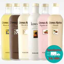 Creme alpine Marzadro, vendita online