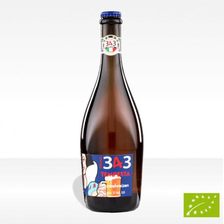 "birra artigianale biologica ""Tempesta"", vendita online"