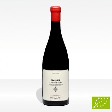 """Morei"" vino biodinamico Teroldego Vigneti delle Dolomiti IGT di Foradori, vendita online"
