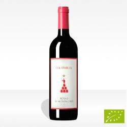 """Rosso di Montalcino DOC vino biologico """"Col D'Orcia"""" di Col D'Orcia, vendita online"""