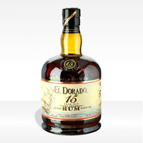 El Dorado Luxury Cask Aged 15 years old rum, vendita online