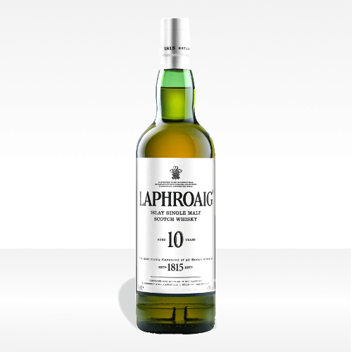 Laphroaig 10 years old Islay Single Malt Scotch Whisky