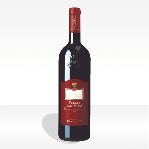 Rosso di Montalcino DOC Poggio alle Mura - Castello Banfi