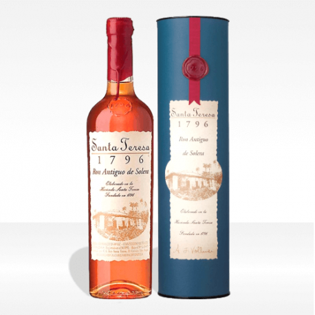"rum Santa Teresa ""1796"" ron antiguo de solera, vendita online"