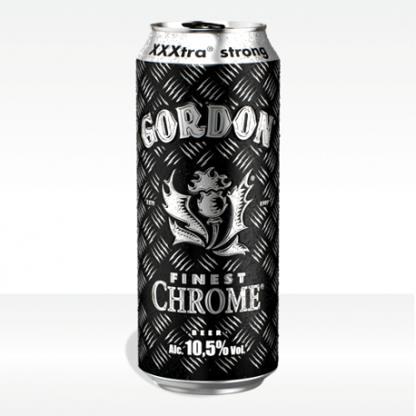birra Gordon Finest Chrome lattina