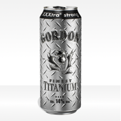 birra Gordon Finest Titanium lattina