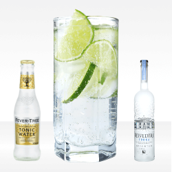 Vodka Tonic (kit per 25 cocktails)