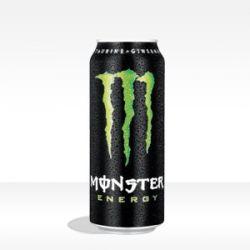 MONSTER ENERGY DRINK - formato 0,5 lt
