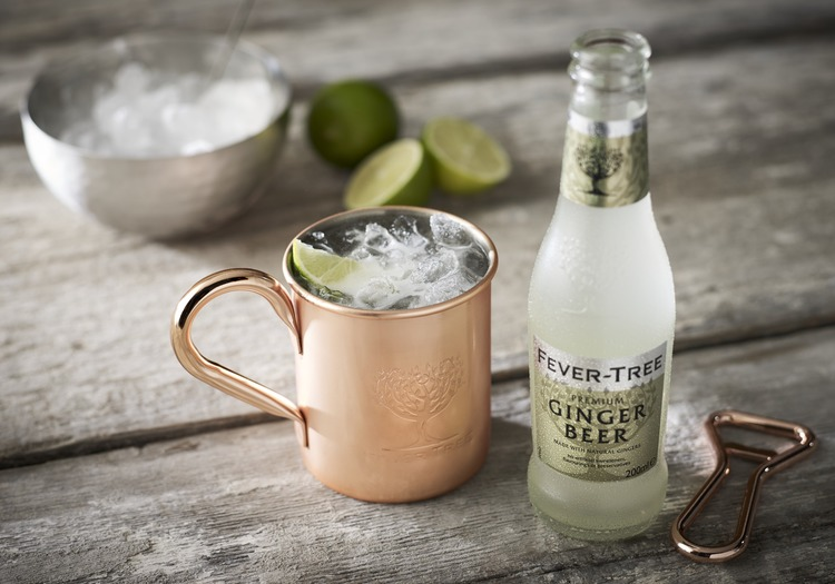 Moscow Mule con Ginger beer FeverTree
