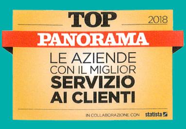 Uno dei siti con il miglior servizio clienti secondo Panorama e Statista