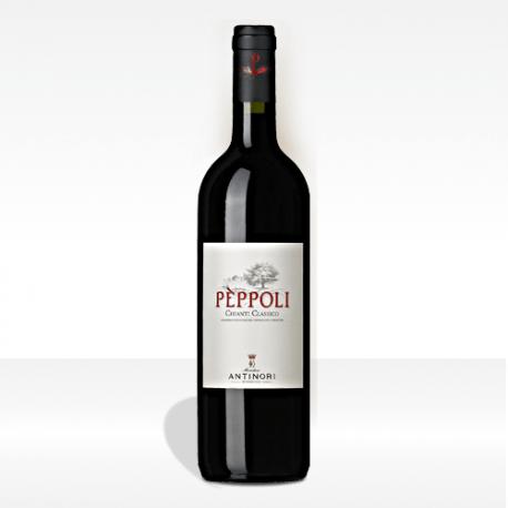 """Antinori """"Pèppoli"""" Chianti Classico DOCG vino rosso della Toscana"""