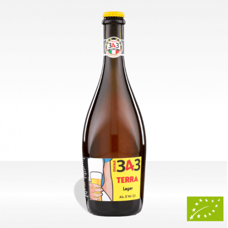 "Birra artigianale Statale 343 ""Terra"" da agricoltura biologica, vendita online"