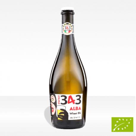 "Birra artigianale biologica Statale 343 ""Alba"", vendita online"