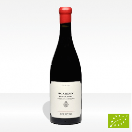 """Sgarzon"" vino biodinamico Teroldego Vigneti delle Dolomiti IGT di Foradori, vendita online"