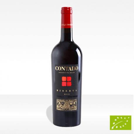"""Aglianico del Molise Riserva DOC """"Contado"""" vino biologico Di Majo Norante vendita online"""