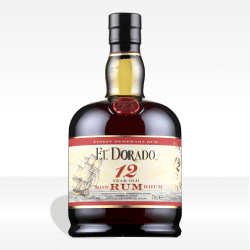 El Dorado Luxury Cask Aged 12 years old rum, vendita online