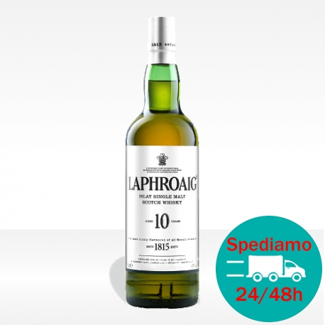 Laphroaig 10 years old Islay Single Malt Scotch Whisky, vendita online