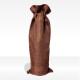 """Sacchetto regalo """"Decor"""" marrone, confezione regalo per bottiglie vendita online"""