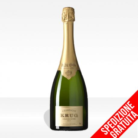 """Champagne """"Grand Cuvee"""" brut di Krug, vendita online spedizione gratuita"""
