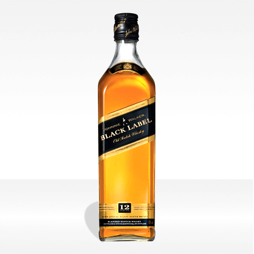'Black label' Scotch whisky - Johnnie Walker