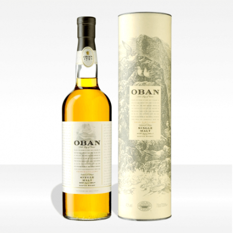 Oban 14 year old single malt scotch whisky, vendita online
