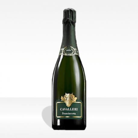 "Franciacorta DOCG ""S.A."" satèn brut di Cavalleri vino spumante lombardia vendita online"