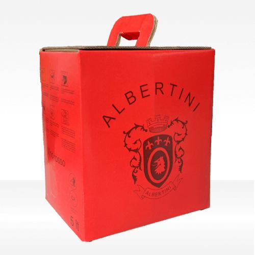 Merlot Veneto IGT bag in cartone - Albertini