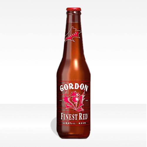 Birra Gordon Finest Red - Formato 0,33
