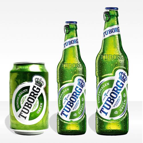Birra Tuborg Green