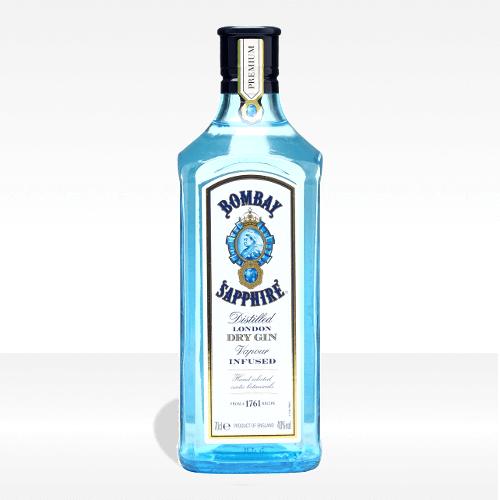 London dry gin - Bombay Sapphire
