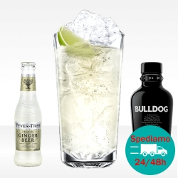 London Mule con fevertree ginger beer e bulldog gin