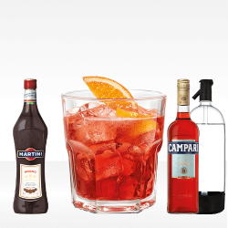 Americano cocktail (kit per 33 cocktails)