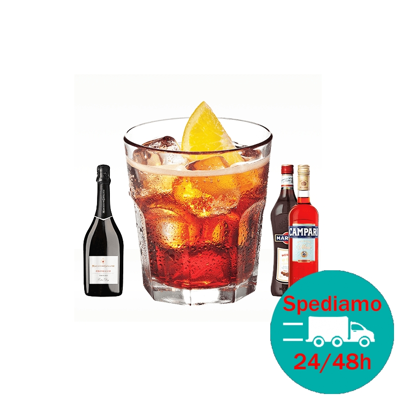 Ricetta Negroni Sbagliato Cocktail.Cocktail Negroni Sbagliato Vendita Kit Completo Con Ingredienti E Dosi