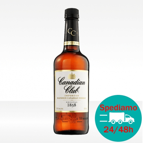 '1858' Canadian rye Whisky - Canadian Club