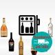 Pacchetto 'Minibar' - Liquori da bar