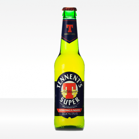 Birra 'Tennent's Super' Strong Lager - Tennent's