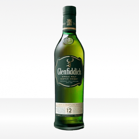 '12 years old' Scotch Whisky Single Malt - Glenfiddich