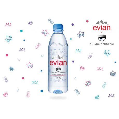 Acqua Evian Ferragni