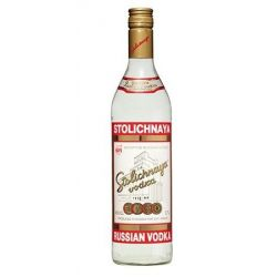 Stolichnaya Premium vodka - Stoli