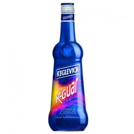 Vodka Keglevich K-GUAR Ginseng e Guaranà - Formato 0,70