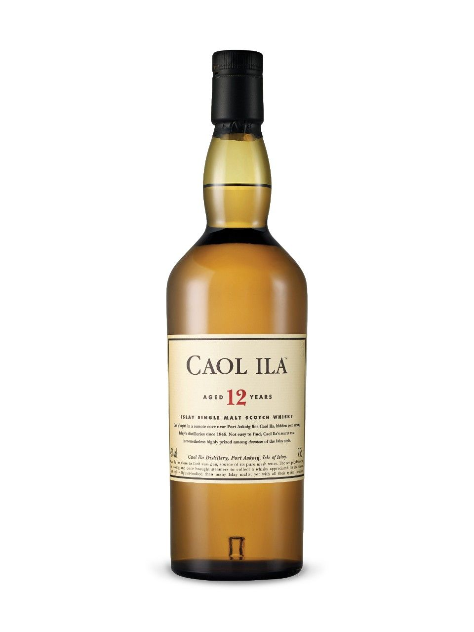 '12 years old' Single Malt Scotch Whisky - Caol Ila