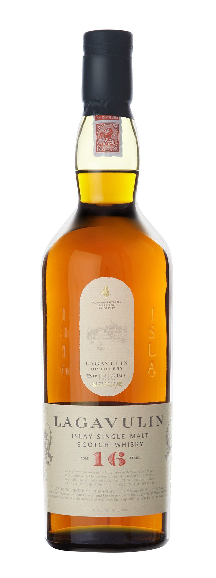 '16 years old' Islay single malt scotch whisky - Lagavulin