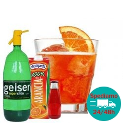Spritz analcolico (kit per 25 cocktails)