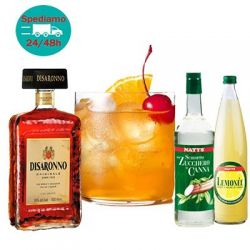 Amaretto Sour (kit per 22 cocktails)