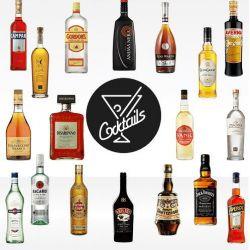 Pacchetto 'professional' - Liquori da bar - 18 bottiglie