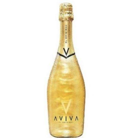 Aviva Original Gold- Spumante Aviva con Glitter Oro