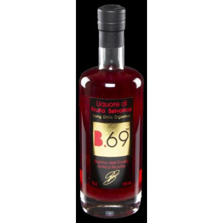 Liquore long drink digestivo di frutta selvatica Corniolo - B69